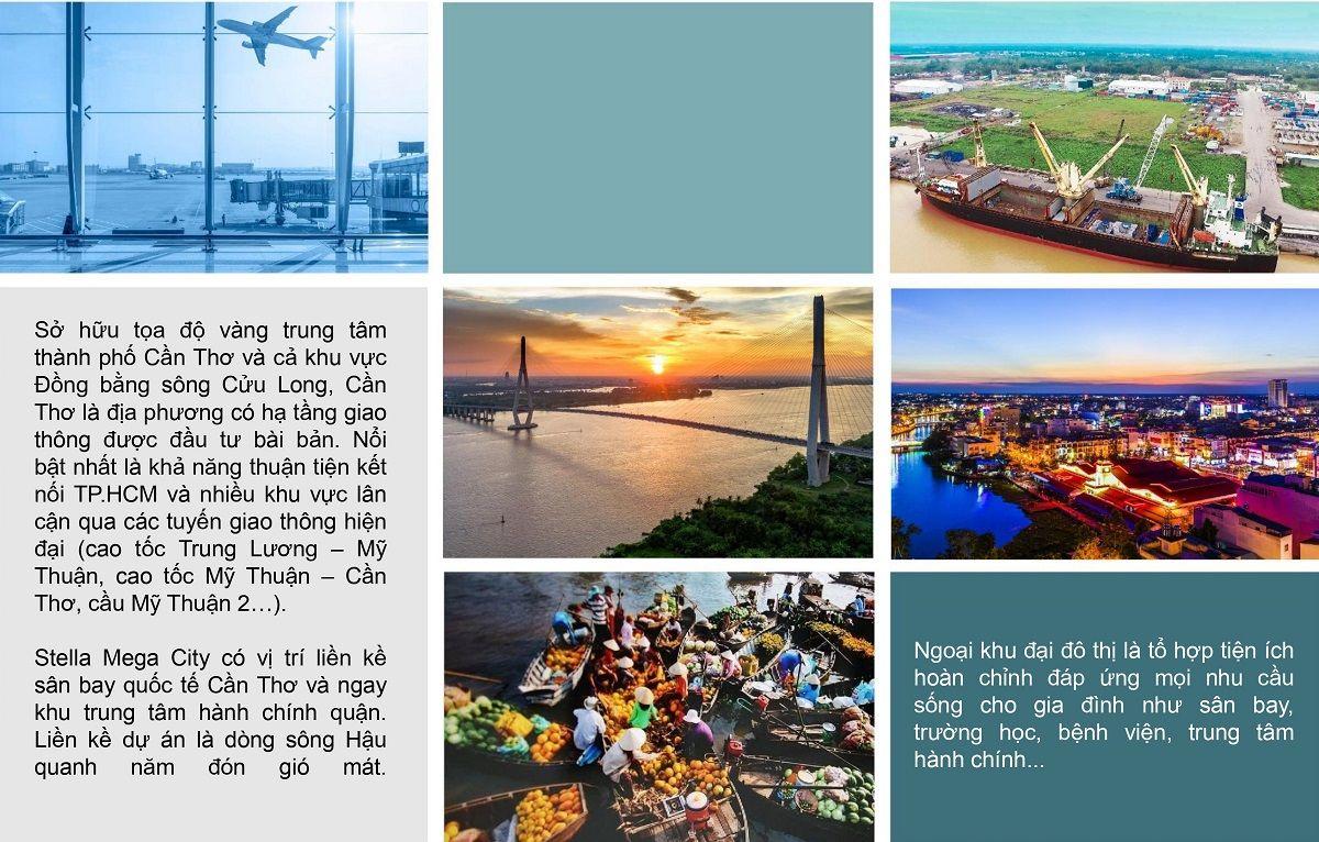 Tiện ích dự án Stella Mega City