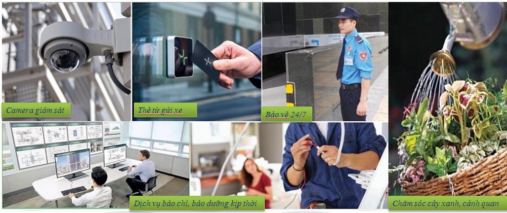 Hệ thống an ninh bảo vệ 24/7 đảm bảo an toàn tuyệt đối