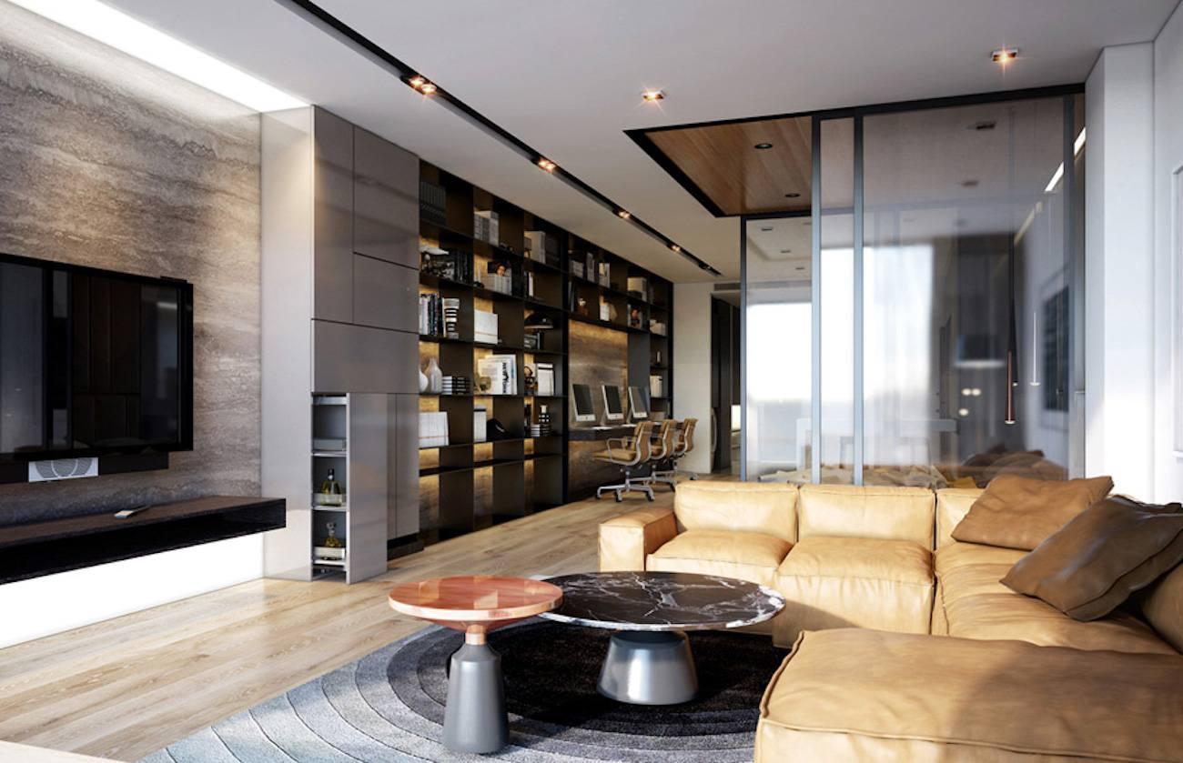 Phòng khách nhà mẫu dự án căn hộ cao cấp Astral City