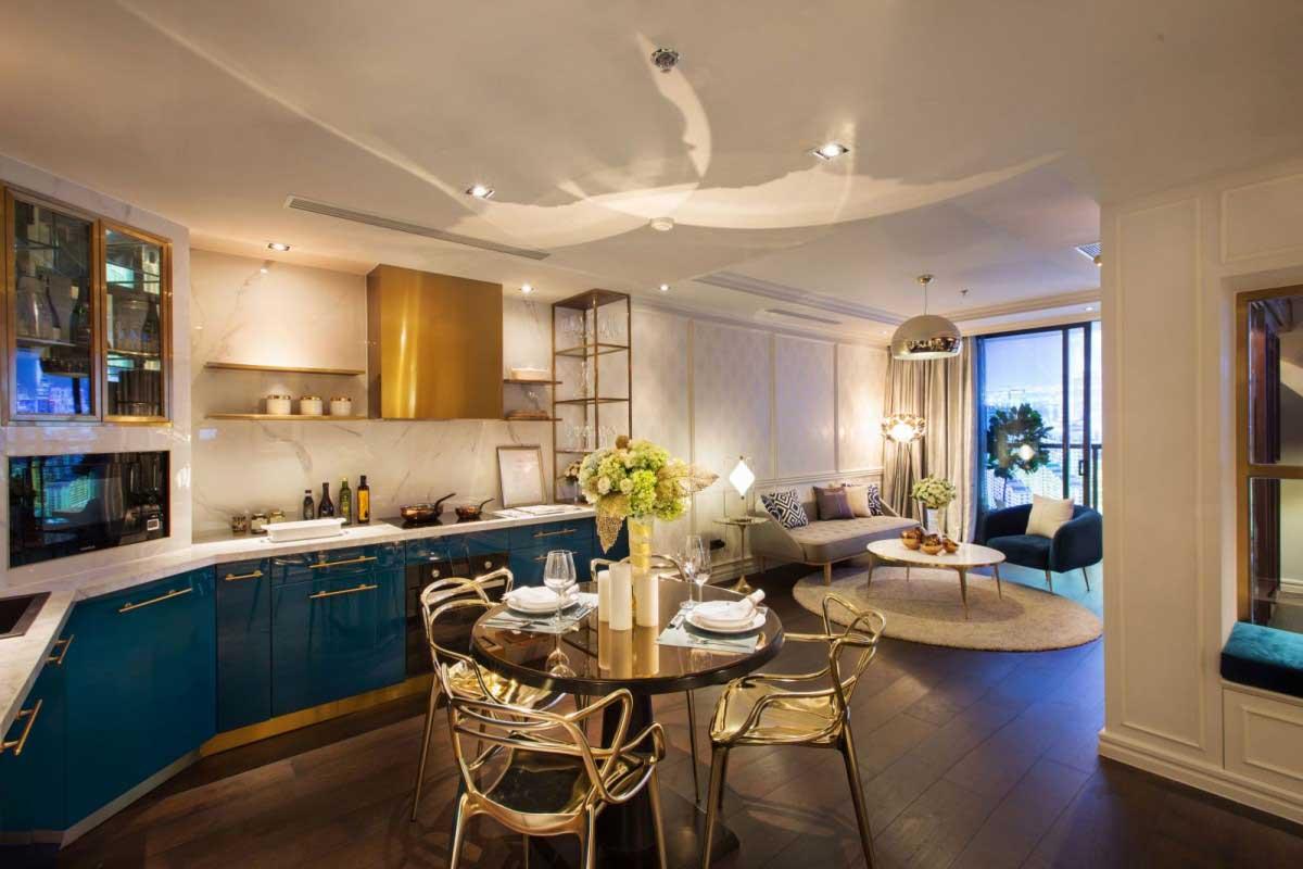 Phòng bếp đầy đủ tiện nghi Stella En Tropic