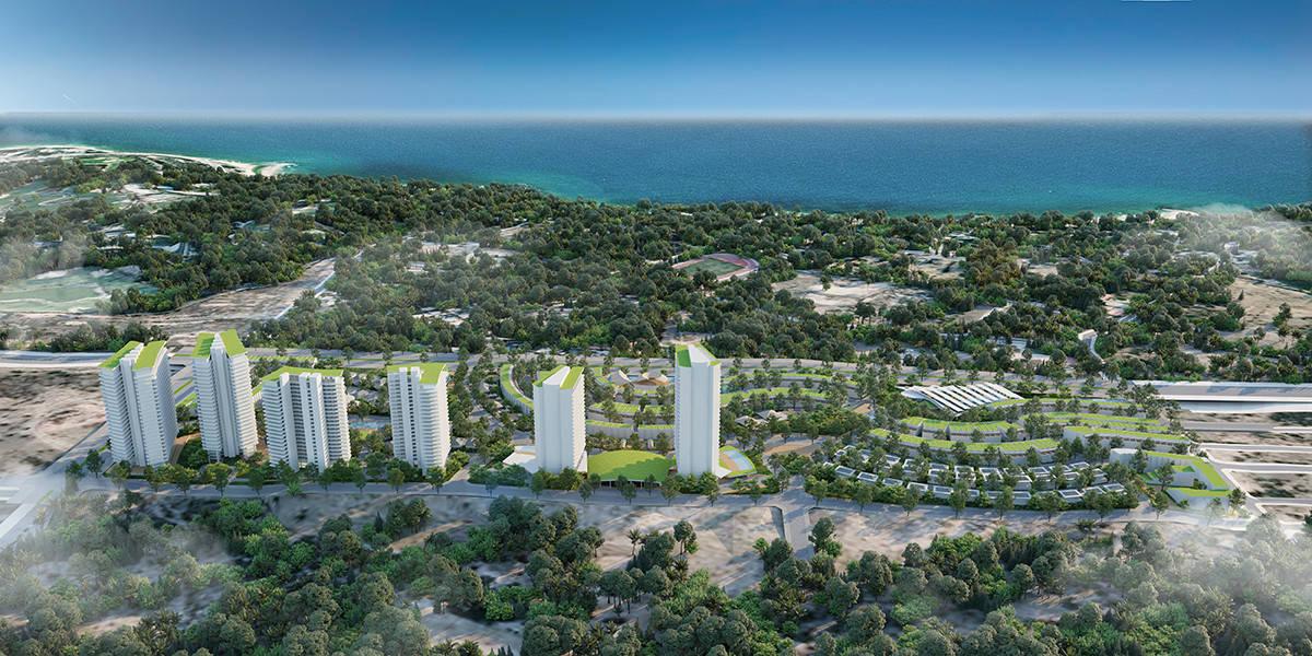 Phối cảnh dự án Summerland Phan Thiết
