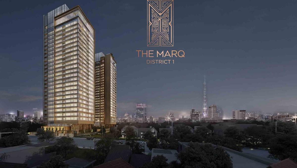 Phối cảnh vẻ đẹp dự án The Marq quận 1 đang mở bán